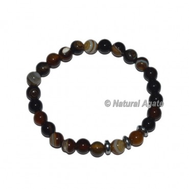 Black Onyx Gemstone Bracelets