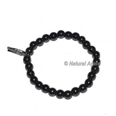Pure Black Onyx Gemstone Bracelets