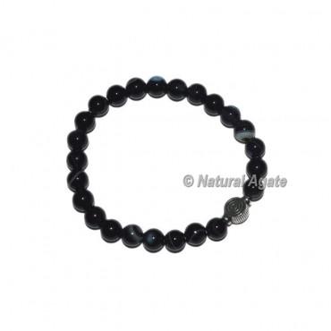 Black Onyx Choko Reiki  Bracelets