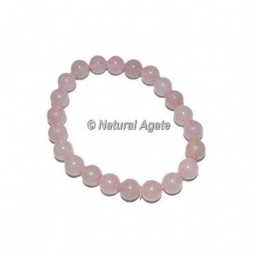 Rose Quartz Gemstone Bracelets