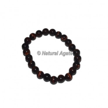 Red Tiger Eye Gemstone Bracelets