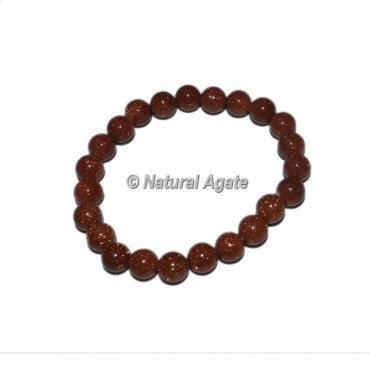 Brown Sunstone Gemstone Bracelets
