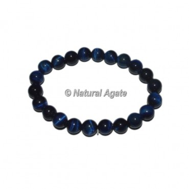 Blue Tiger Eye Gemstone Bracelets