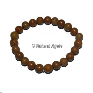 Wood Jasper Gemstone Bracelets