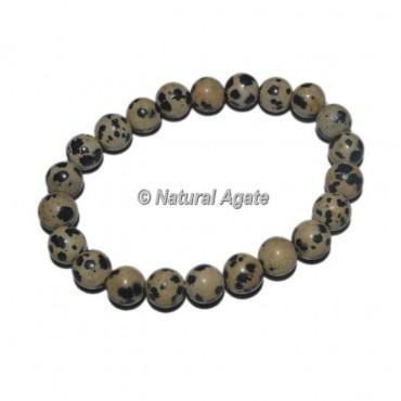 Dalmation Stone Gemstone Bracelets