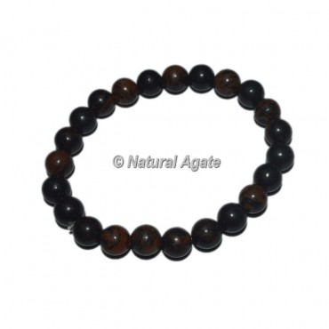 Brown Obsidian Gemstone Bracelets