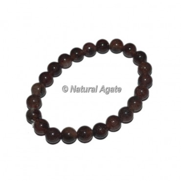 Cherry Quartz Gemstone Bracelets