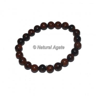 Mahagony Obsidian Gemstone Bracelets