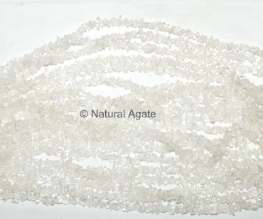 Crystal Quartz Chips Beads String