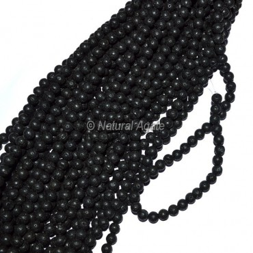 Lava Stone Beads String