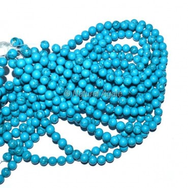 Turquoise Stone Beads String
