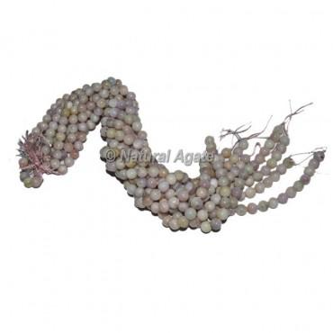 Moon Stone Agate Beads