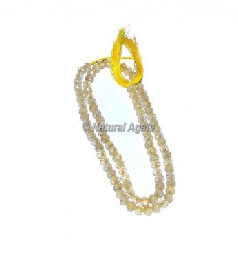 Light String Faceted Rondelle Beads