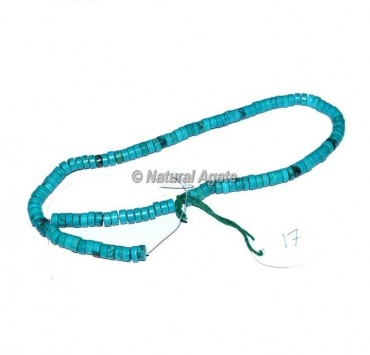 Turquoise Rondelle Beads
