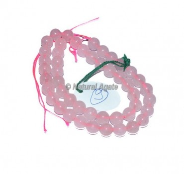 Rose Quartz High Quality Agate Beads