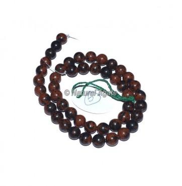 Mahogany Obsidian Agate Beads