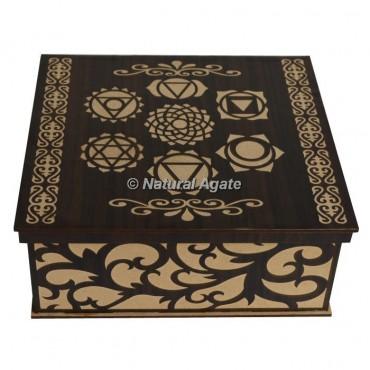 7 Chakra Wooden Gift Box