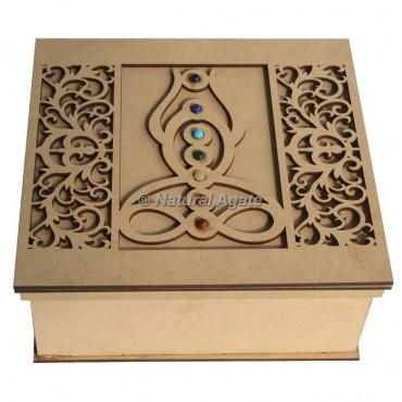 Buddha Wooden Gift Box
