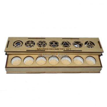 7 Chakra Wooden Long Gift Box