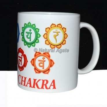 Printed Flower Chakra Cup