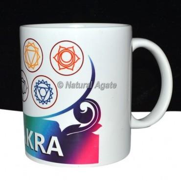 Rainbow Printed Chakra Cup