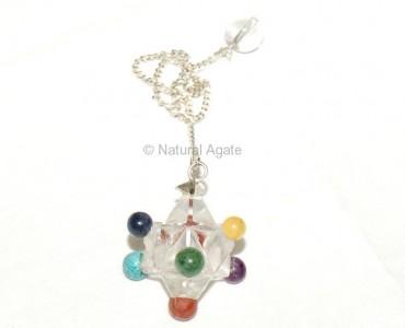 Chakra cabs Star Pendulums