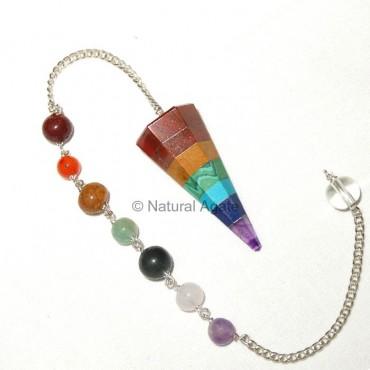 Chakra Layer Pendulums with Chakra Chain