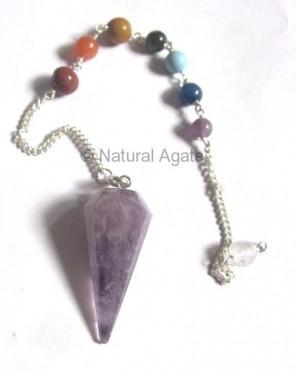 Amethyst Chakra Pendulums