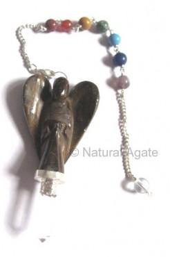 Tiger Angel Chakra Pendulums