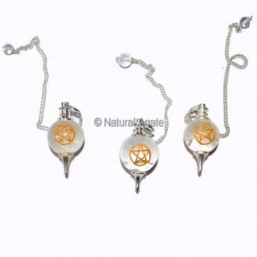 Pentagram Dowsing Pendulums