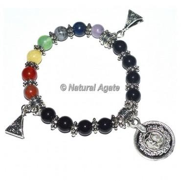 7 Chakra Stone Healing Bracelets