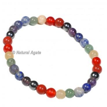 Healing 7 Chakra 8mm Beads Bracelets