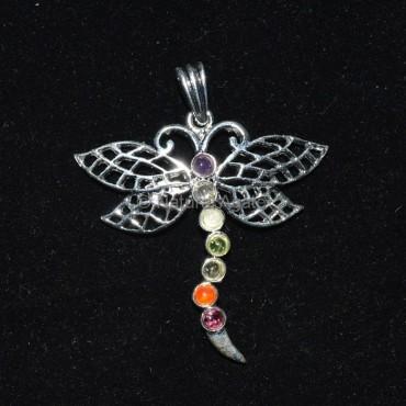 Butterfly Chakra Pendant