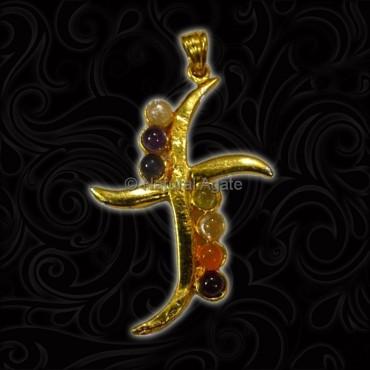 Cross Chakra Pendant