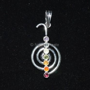 Choko Reiki Seven Chakra Pendant