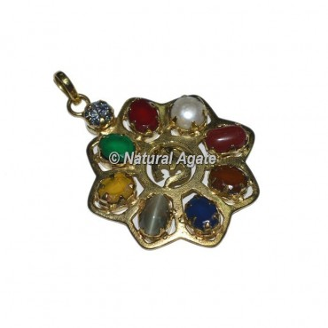 7 Chakra Metal Pendants