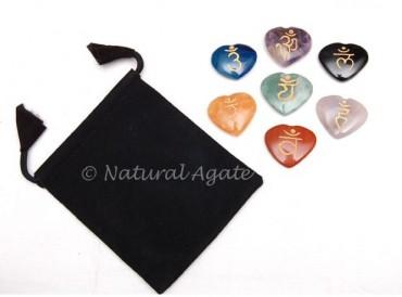 Chakra Sanskrit Hearts Sets