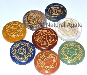 Eight Chakra Set With Crystal