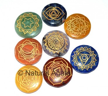 Eight Chakra Set Without Crystal