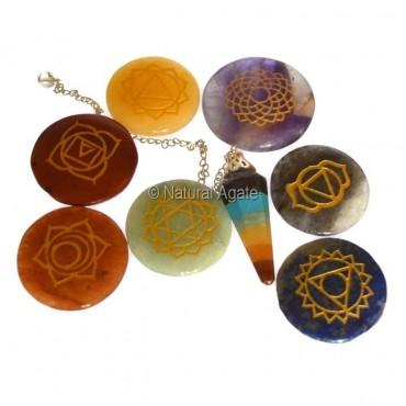 Chakra Disc Symbol Kit