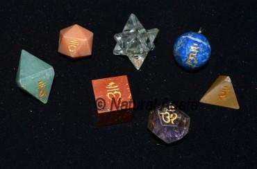 Chakra Sanskrit Geometry Set