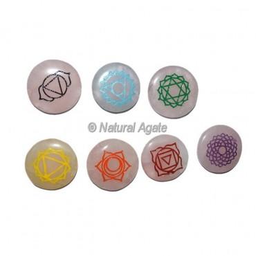 Rose Quartz Color Chakra Set