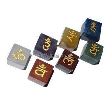 Chakra Sanskrit Cube Set