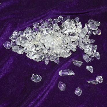 Brazilian Crystal Quartz Chips Stone