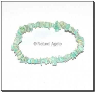 Amazonite Chips Bracelets