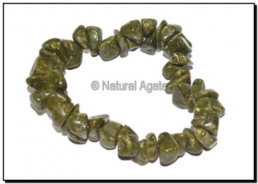 Mahendi Agate Chips Bracelets