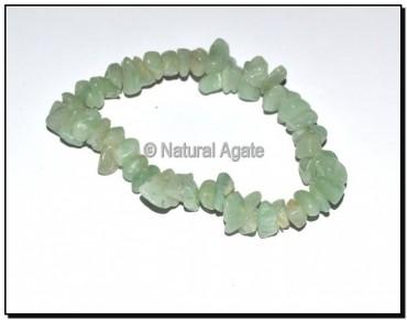 Green Aventurine Chips Bracelets