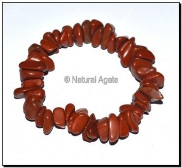 Red Jasper Chips Bracelets