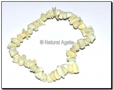 Green Opal Chips Bracelets
