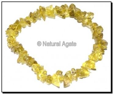 Peridot Chips Bracelets